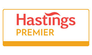 Hastings premier motorbike insurance logo