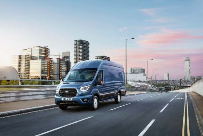 ford transit with city skylne