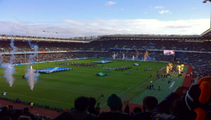 Murrayfield edinburgh scotland rugby