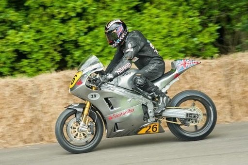 Ian Mackman in 2012 for the Isle of Man TT
