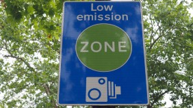 Sign for a Low Emission Zone