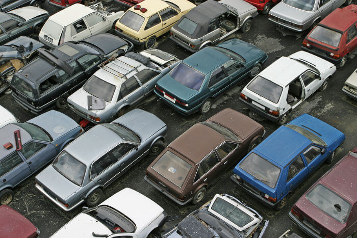 Scrappage schemes for old cars