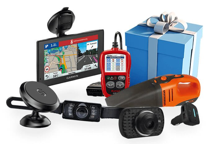 car gadgets with a present