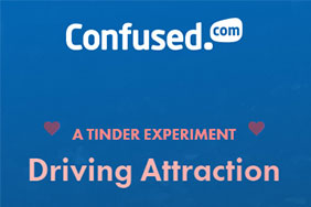 Confused.com driving attractions - a tinder experiment