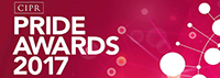 CIPR Pride Awards 2017 logo