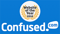 Confused.com - website of the year awards 2016