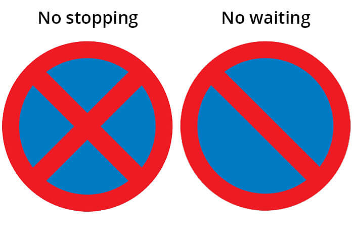 No Stopping - No Waiting